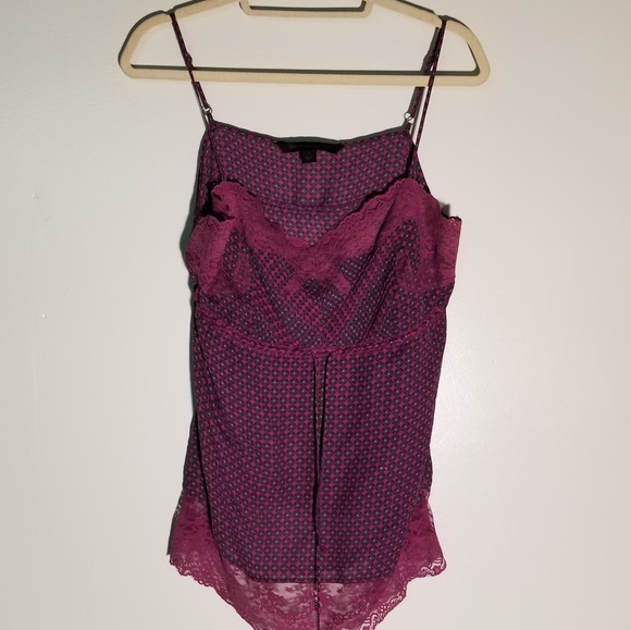 Express Other - Banana Rep. Purple Camisole